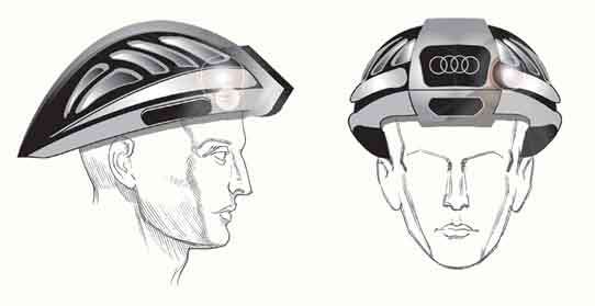 In-Search Bike Helmet for AUDI